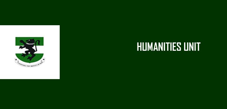 HUMANITIES UNIT