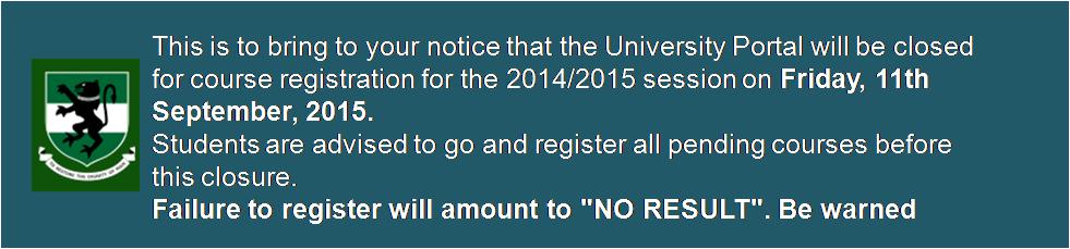 course registration deadline