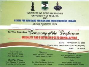 Institute of African Studies