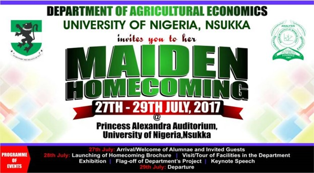 Homecoming Agricultural Economics