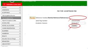 accetance pay