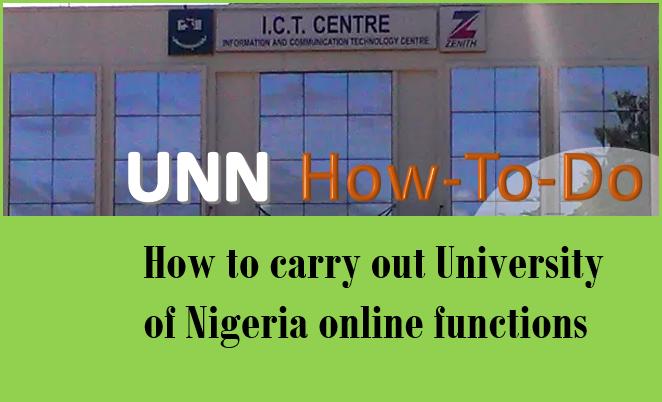 how to do UNN