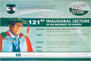 121st Inaugural Lecture Card.JPG1