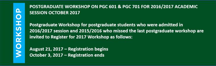 pg workshop
