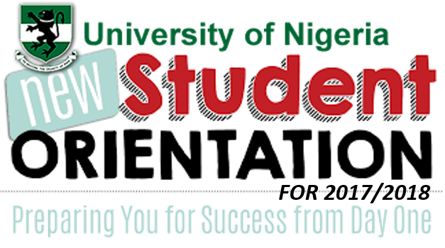 Time Table For 2017/2018 Orientation Programme