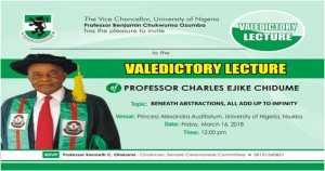 Valedictory Lecture
