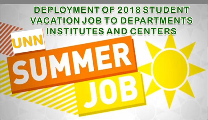 unn summer job banner