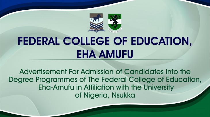 Available Programmes At FCE Eha-Amufu