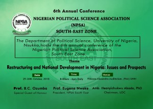 NPSA Conference Flyer for UNN Website