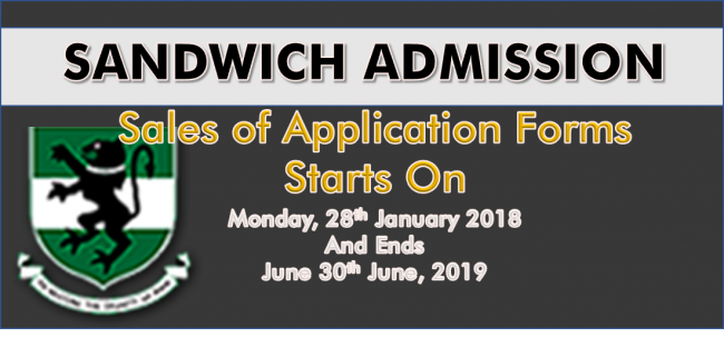 Sandwich Evening Degree and Diploma Programmes for 2019