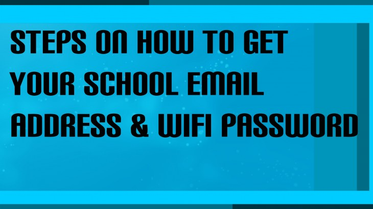 BANNER HOW TO GET EMAIL AND WIFI
