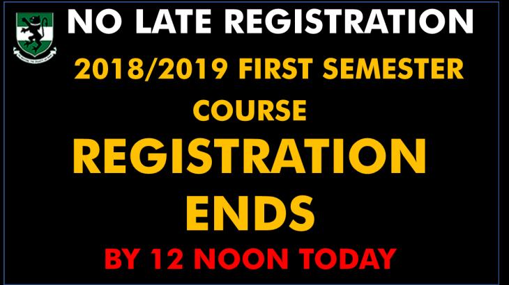 Course Reg. 2019