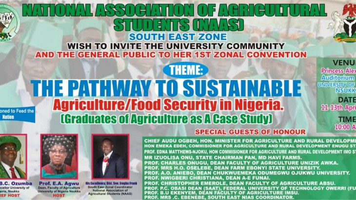 Flyer From Agric