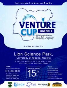 VENTURE CUP NIGERIA'S FLYER