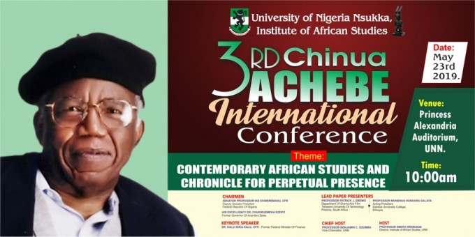3rd Chinua Achebe International Conference