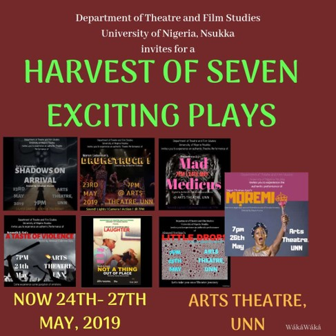 A Harvest Of Seven Exciting Plays