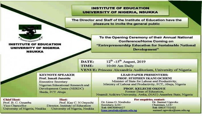 Institute of Education Annual National Conference