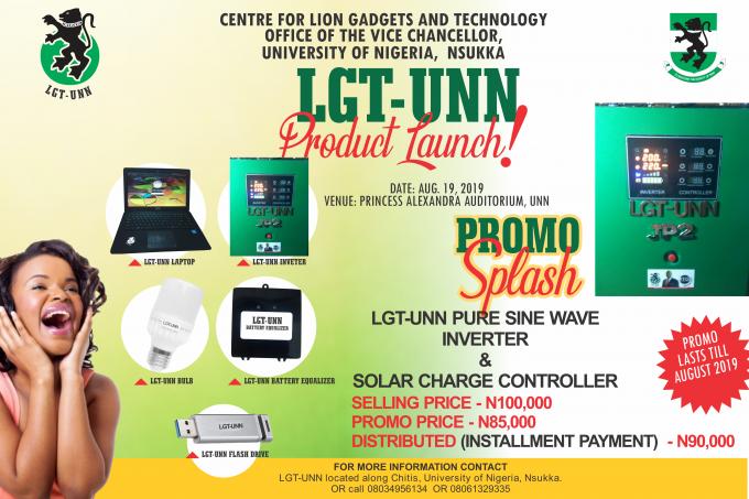 LGT-UNN Product Launch