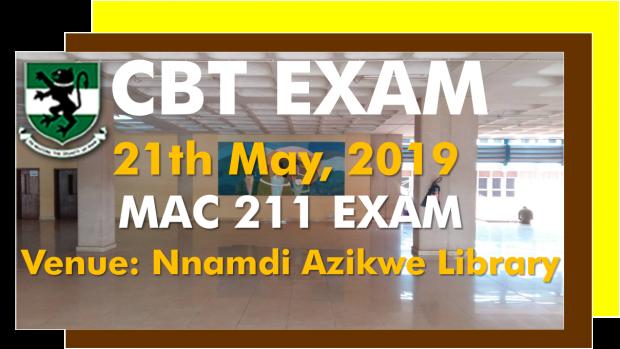 MAC 211 Exam
