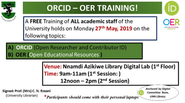 OER (Open Educational Resources) Trainning