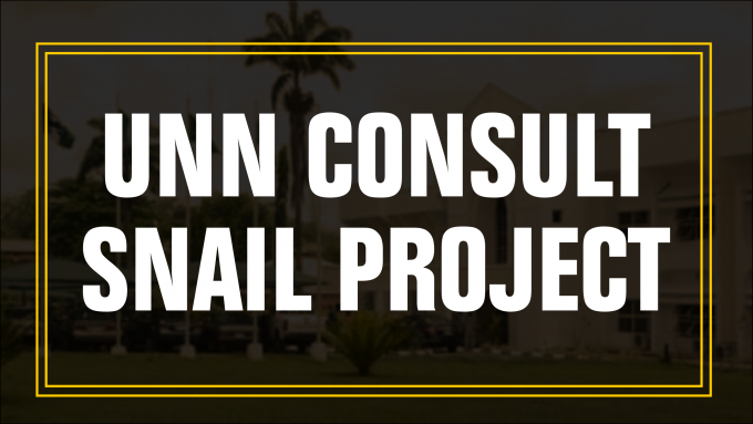 UNN Consults Snail Project