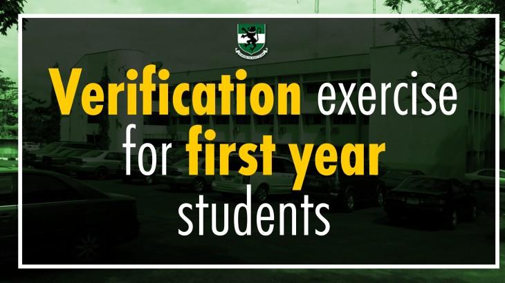 VERIFICATION EXERCISE YEAR ONE