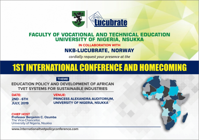 1st VTE International Conference & Homecoming