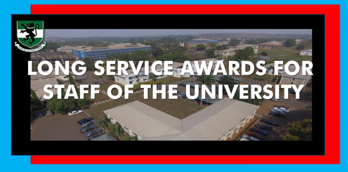 Long Service Awards for Staff of the University
