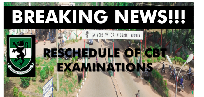 BREAKING NEWS!!! ATTENTION ALL STUDENTS!!!Postponement of CBT Examination
