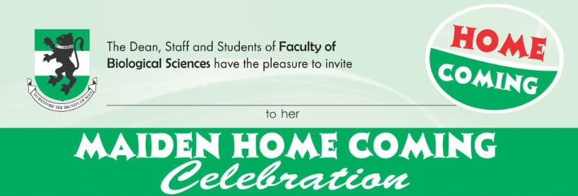 Maiden Home coming celebration of Faculty of Biological Sciences