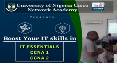 UNN CISCO ACADEMY Presents: Boost your IT Skills With UNN Cisco Academy