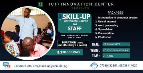 Skill Up Certificate Course for Staff