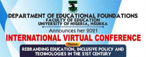 Call for Abstracts: Educational Foundations 2021 International Virtual Conference