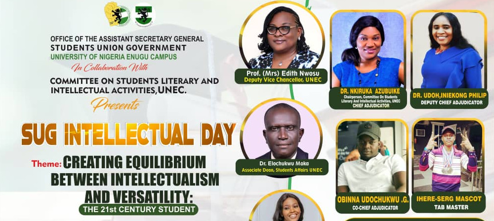 SUG Intellectual Day: Creating Equilibrium Between Intellectualism and Versatility