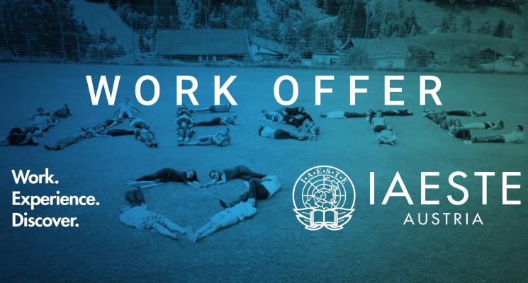 IAESTE Austria - Work Offer